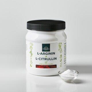 L-Arginin + L-Citrullin 500 g - Pulver - von Unimedica