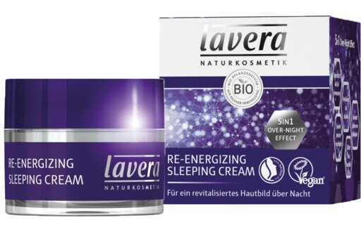 Lavera Re-Energizing Sleeping Cream - 50 ml