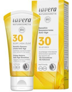 Lavera Sensitiv Sonnencreme Anti-Age LSF 30 - 50 ml
