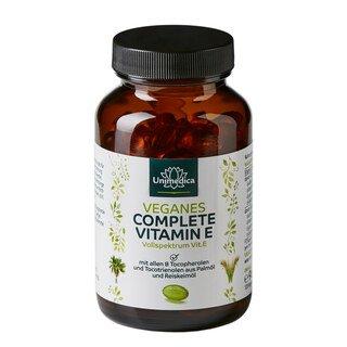 Veganes Complete Vitamin E - 237 mg - 120 Kapseln - von Unimedica/