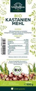 Bio Kastanienmehl - 500 g - von Unimedica