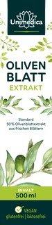 Olivenblatt Extrakt - Standard 50 % - 500 ml - von Unimedica - Topangebot