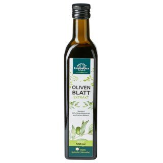 Olivenblatt Extrakt - Standard 50 % - 500 ml - von Unimedica - Topangebot/