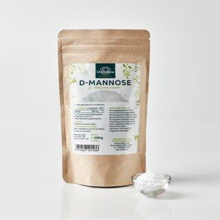 D-Mannose - 2000 mg pro Tagesportion - 200 g Pulver - von Unimedica