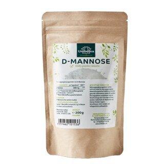 D-mannose  2 000 mg par portion journalière - 200 g de poudre - par Unimedica/