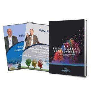 Set mit einem Buch und 2 DVDs von Heiner Frei/Heiner Frei
