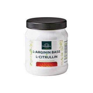 L-Arginin Base + L-Citrullin - 3.300 mg - 320 Softgelkapseln - von Unimedica/