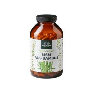 MSM naturel issu du bambou - 365 gélules - Unimedica