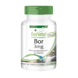Bor 3 mg - 90 Tabletten/