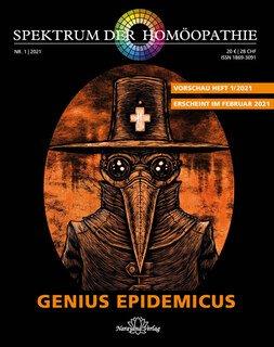Spektrum der Homöopathie 2021-1, Genius Epidemicus, Narayana Verlag
