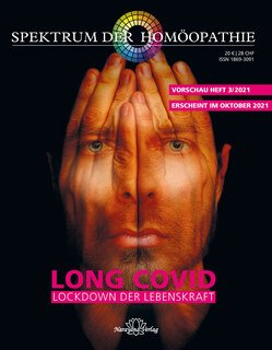 Narayana Verlag: Spektrum der Homöopathie 2021-3, Long Covid- Lockdown der Lebenskraft