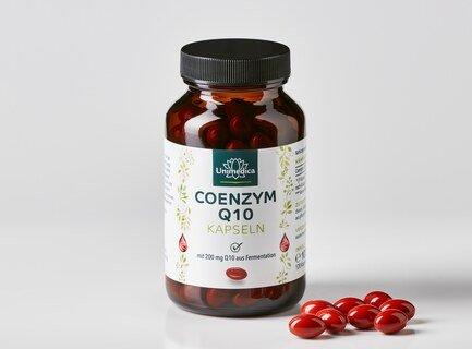 Coenzym Q10 - 200 mg - 120 Softgelkapseln - von Unimedica