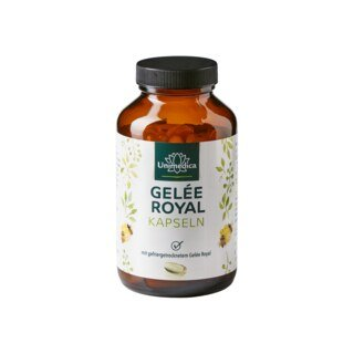 Gelée Royal - 334 mg - 120 Softgelkapseln - von Unimedica/