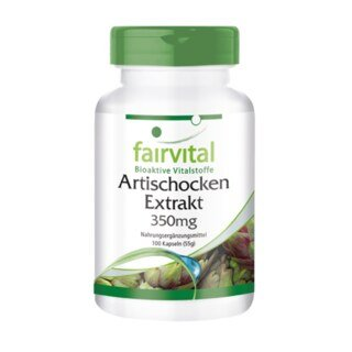 Artischocken Extrakt 350 mg - 100 Kapseln