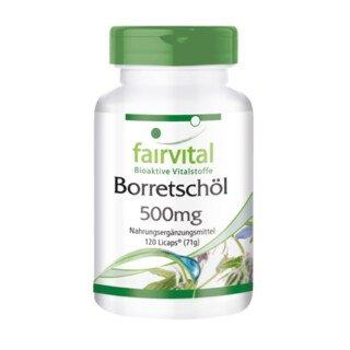 Borretschöl 500 mg - 120 LiCaps®/