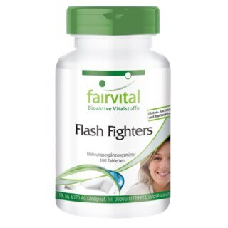 Flash Fighters - 100 Tabletten/