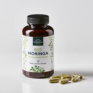 Bio Moringa - 990 mg - 120 Kapseln - von Unimedica