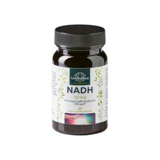 NADH - 50 mg - 60 Kapseln - von Unimedica/