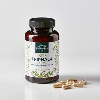 Bio Triphala - 500 mg - 180 Kapseln - von Unimedica - Sonderangebot