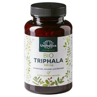 Bio Triphala - 500 mg - 180 Kapseln - von Unimedica/