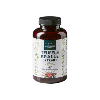 Griffe du diable avec L-leucine - 510 mg - 180 gélules - Unimedica/