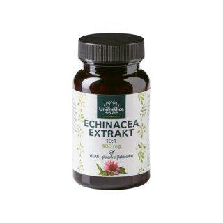 Echinacea Extrakt 10:1 - 400 mg - 90 Kapseln - von Unimedica/