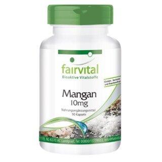 Mangan 10 mg - 90 Kapseln