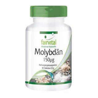 Molybdän 150 µg - 90 Tabletten/