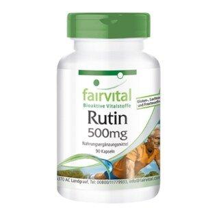 Rutin - 500 mg - Vitamin P - 90 Kapseln/