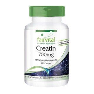 Creatin - 700 mg - 120 Kapseln