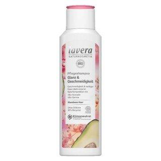 Lavera Pflegeshampoo Glanz & Geschmeidigkeit - 250 ml