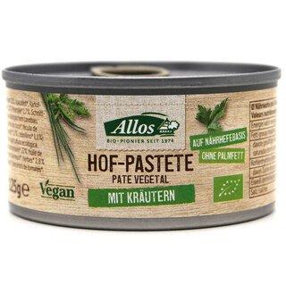 Hof-Pastete mit Kräutern Bio - Allos - 125 g/