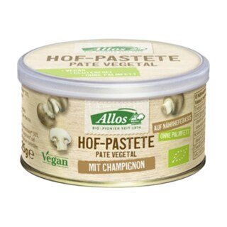 Hof-Pastete Champignon Bio - Allos -125 g/