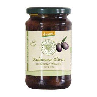 Kalamata Oliven mit Stein Bio -130 g