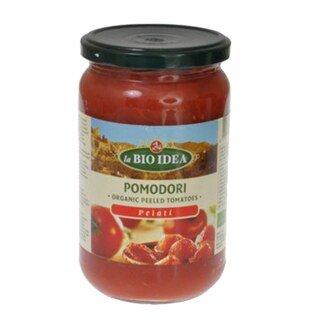 Tomaten geschält Bio - im Glas - 660 g/