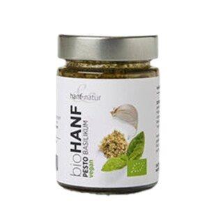 Bio Hanfpesto Basilikum - 150 g/