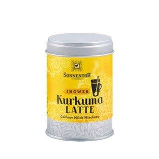 Ingwer Kurkuma Latte Bio - Goldene Milch Mischung - 60 g