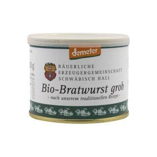 Bratwurst grob Bio Demeter - Bäuerlische Erzeugergemeinschaft Schwäbisch Hall - 200 g/