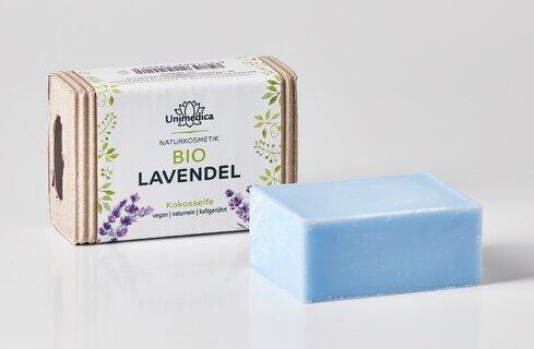 Lavendelseife BIO - 100 g - von Unimedica