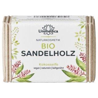 Bio Sandelholzseife - 100 g - von Unimedica/