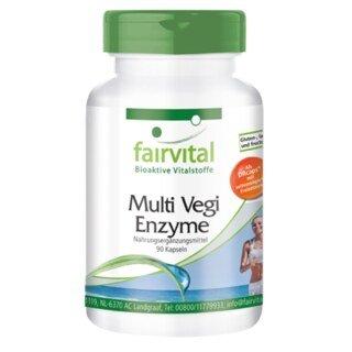 Multi Vegi Enzyme - 90 Kapseln