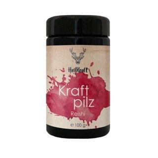 Kraftpilz Reishi - Vitalpilzpulver - Hersteller: Firma Heilkraft Lebenskraft Manufaktur - 100 g