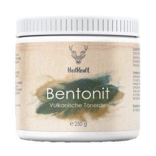 Bentonit - Tonerde vulkanischen Ursprungs - 250 g/