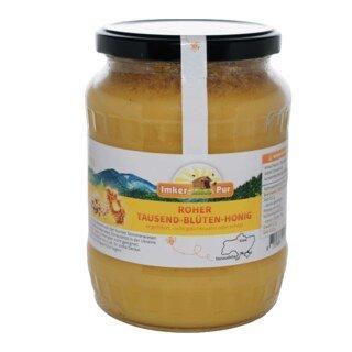 Roher Tausend-Blüten-Honig - 1 kg/