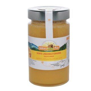 Roher Lindenblüten-Honig - 400 g