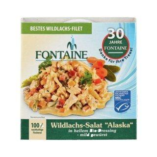 Wildlachs-Salat Alaska - Fontaine - 200 g/