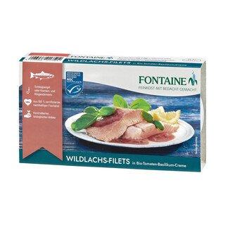 Wildlachs-Filet in Bio-Tomaten-Basilikum-Creme - Fontaine - 200 g/