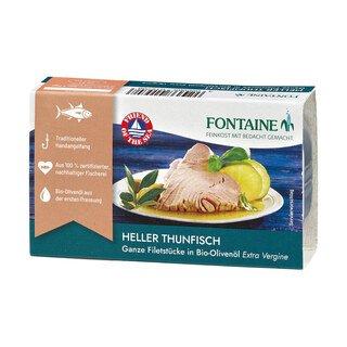 Heller Thunfisch in Bio-Olivenöl - Fontaine - 120 g/