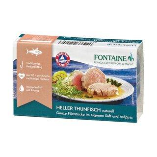 Heller Thunfisch naturell - Fontaine - 120 g
