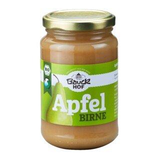 Apfel-Birnenmark ungesüßt Bio - Bauckhof 360 g/